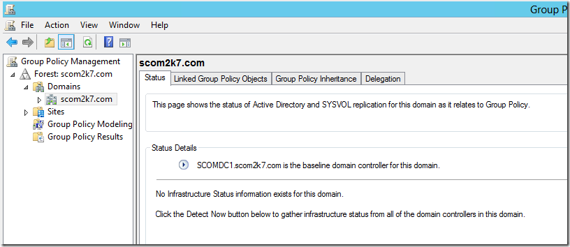how to start group policy management console server 2003