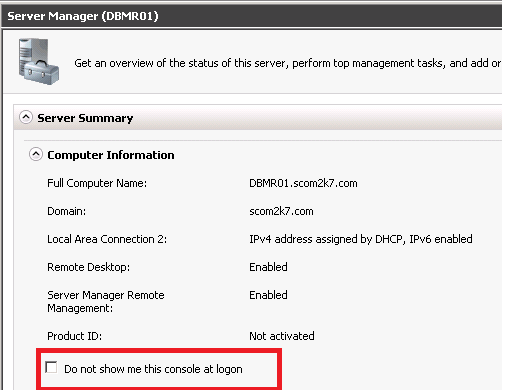 server 2012 auto login